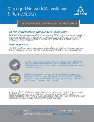 Abacode Managed Network Surveillance