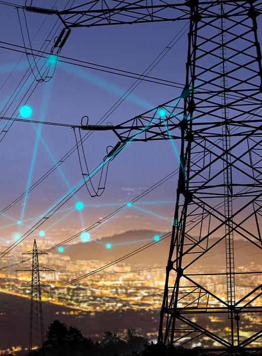 Power lines & poles