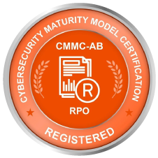 Cybersecurity Maturity Model Certification RPO Registered seal