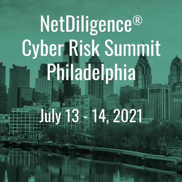 ABACODE EVENTS - NetDiligence Cyber Risk Summit Philadelphia