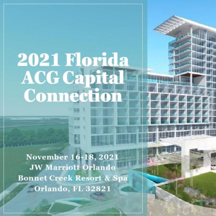 2021 Florida ACG Capital Connection